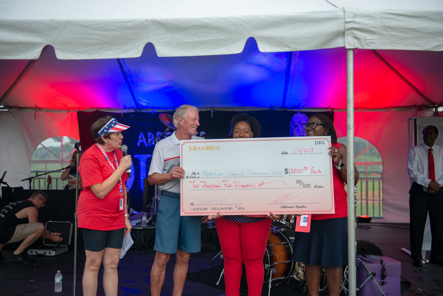 Women receive $2,500 donation from Metrowest